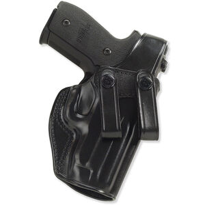 Galco SC2 GLOCK 19, 23, 32 Inside Waistband Holster Thumb Break Right Hand Leather Black SC2-226B