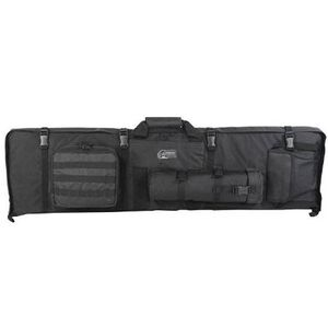Voodoo Tactical Rifle Drag Bag and Shooting Mat Nylon Black