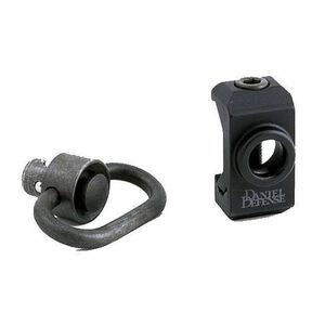 Daniel Defense AR-15 Picatinny Rail Mount QD Swivel Attachment Point with Sling Swivel Black Finish DD7101S
