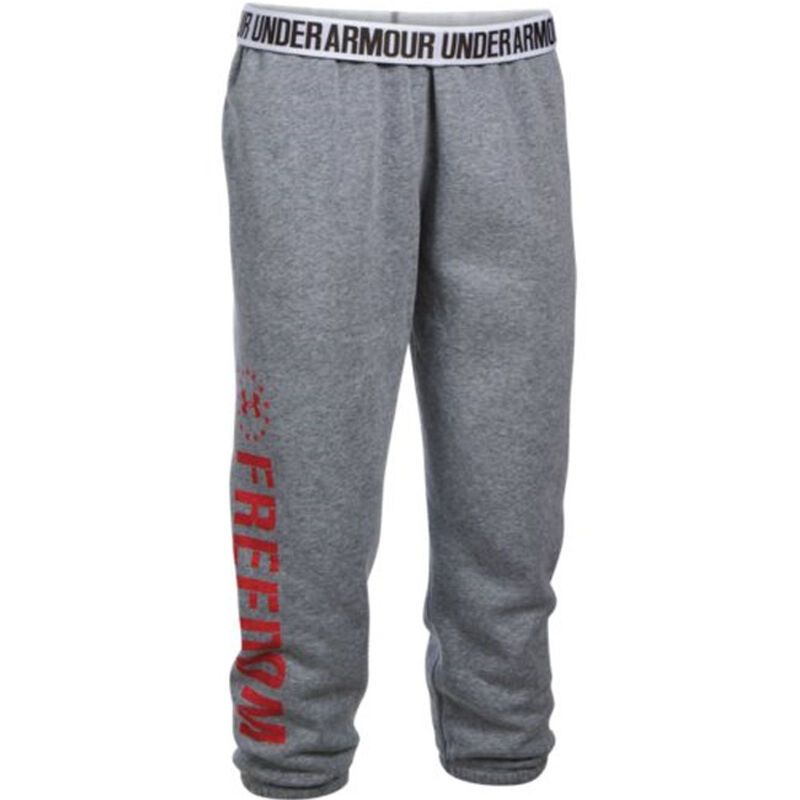 Under Armour Freedom Favorite Fleece Women's Pants Size XS Marine OD Green/Desert Sand