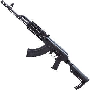 "Riley Defense RAK-47-T-MP AK-47 Semi Auto Rifle 7.62x39mm 16.25"" Barrel 30 Rounds Aluminum Quadrail Handguard MFT Collapsible Stock Black Finish"