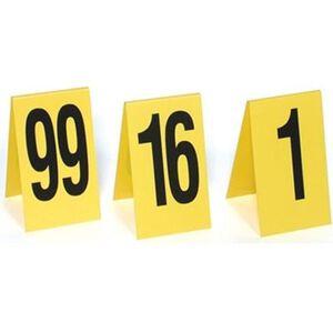 Sirchie Plastic Photo Evidence Numbers 1-15