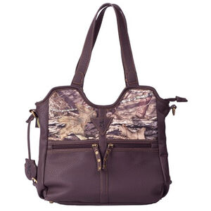 Signature Products Group Browning Carson Concealed Carry Bag Faux Leather Brown/Country  Camo BBG09019