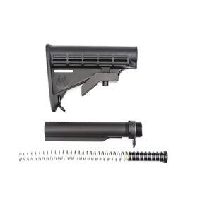 Spikes Tactical AR-15 M4 Stock Kit With ST-T2 Heavy Buffer Black SAK0701-K