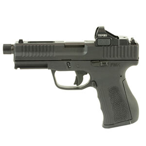"FMK 9C1 Elite Pro Plus Semi Auto Pistol 9mm Luger 4.5"" Threaded Barrel 10 Rounds Vortex Red Dot Black"