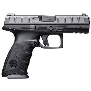 "Beretta APX Semi Auto Pistol 9mm 4.25"" Barrel 17 Rounds Polymer Frame Black"
