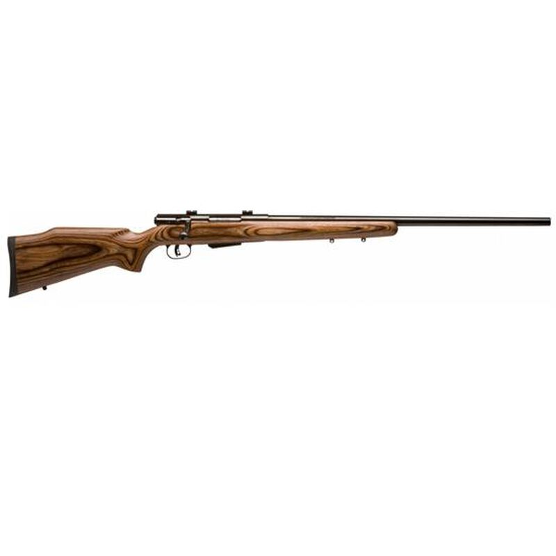 "Savage Arms 25 Lightweight Varminter Bolt Action Rifle .17 Hornet 24"" Barrel 4 Rounds Wood Laminate Stock Blued Finish 19738"