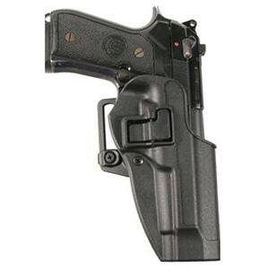 BLACKHAWK! SERPA CQC Beretta 92, 96, M9 Holster Right Hand Black Matte Finish 410504BK-R