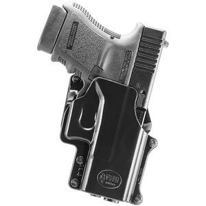 Fobus Belt Holster For GLOCK 10mm/.45 And S&W Sigma V Right Hand Polymer Black GL4BH