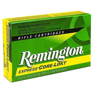 Remington Express .300 Winchester Short Magnum Ammunition 20 Rounds 150 Grain Core-Lokt PSP Soft Point Projectile 3320fps