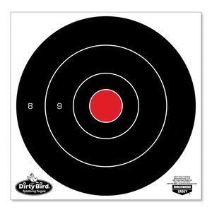 "Birchwood Casey Dirty Bird Targets 8"" Bullseye 25 Pack"