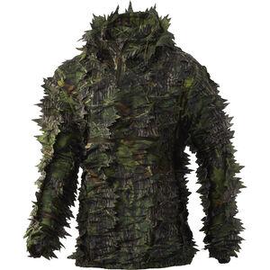 Nomad Men's Leafy Quarter Zip Long Sleeve Shirt M-L Mossy Oak Shadow Leaf Camo Polyester