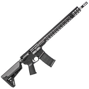 "Stag 15 3-Gun Elite AR-15 Semi Auto Rifle 5.56 NATO 18"" Stainless Steel Barrel 30 Rounds 16.5"" M-LOK SL Free Float Hand Guard Magpul Stock/Grip Matte Black Finish"