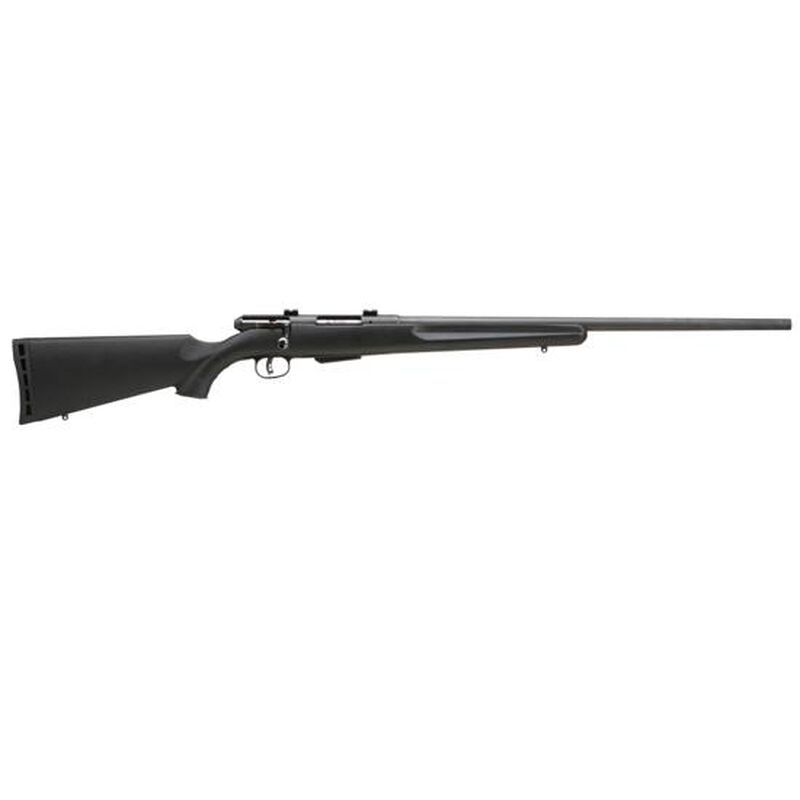 """Savage Arms 25 Walking Varminter Bolt Action Rifle .17 Hornet 22"""" Barrel 4 Rounds Synthetic Stock Matte Blued Finish 19740"""
