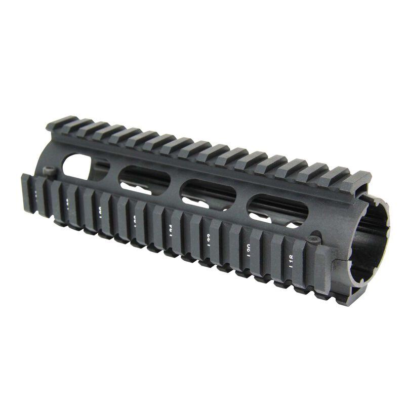 "TacFire AR-15 Two Piece Drop-In Quad Rail Handguard 7"" Aluminum Black HG01-7"