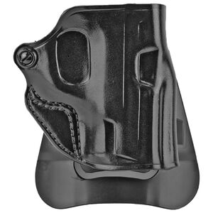 Galco Speed Master 2.0 Glock 43/43X Barrel Paddle Holster Right Hand Leather Black