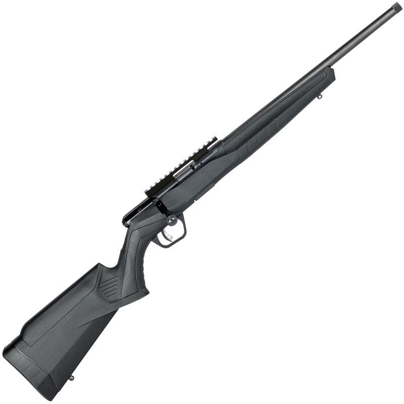 "Savage Model B22 Bolt Action Rimfire Rifle .22 WMR 16.25"" Heavy Threaded Barrel 10 Rounds Synthetic Stock Black"