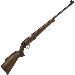 "Anschutz 1710 D KL Nuss Monte Carlo Bolt Action Rifle .22 LR 23.75"" Barrel 5 Rounds Single Stage Trigger Open Sights Walnut Stock Blued Finish 000439"