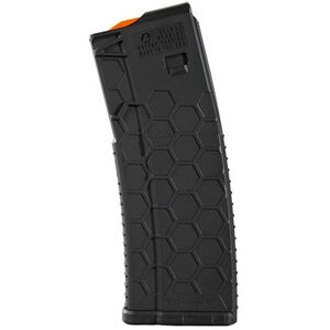 Hexmag Series 2 AR-15 30 Round Magazine .223 Rem/5.56 NATO/.300 AAC Blackout PolyHex2 Advanced Composite Polymer Matte Black
