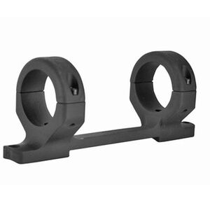 """DNZ Products Game Reaper One Piece Scope Base/Ring Combo Ruger American Centerfire Short Action 1"""" Tube Medium Height 6061-T6 Billet Aluminum Anodized Matte Black Finish"""