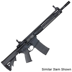 "LWRC IC-SPR Semi Auto Rifle 5.56 NATO 14.7"" Barrel with Pinned and Welded Muzzle Device 30 Rounds 12"" Hand Guard Ambi Lower Tungsten Grey"
