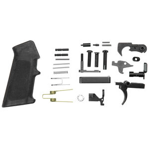 I.O. Inc AR-15 Complete Lower Parts Kit Matte Black Finish