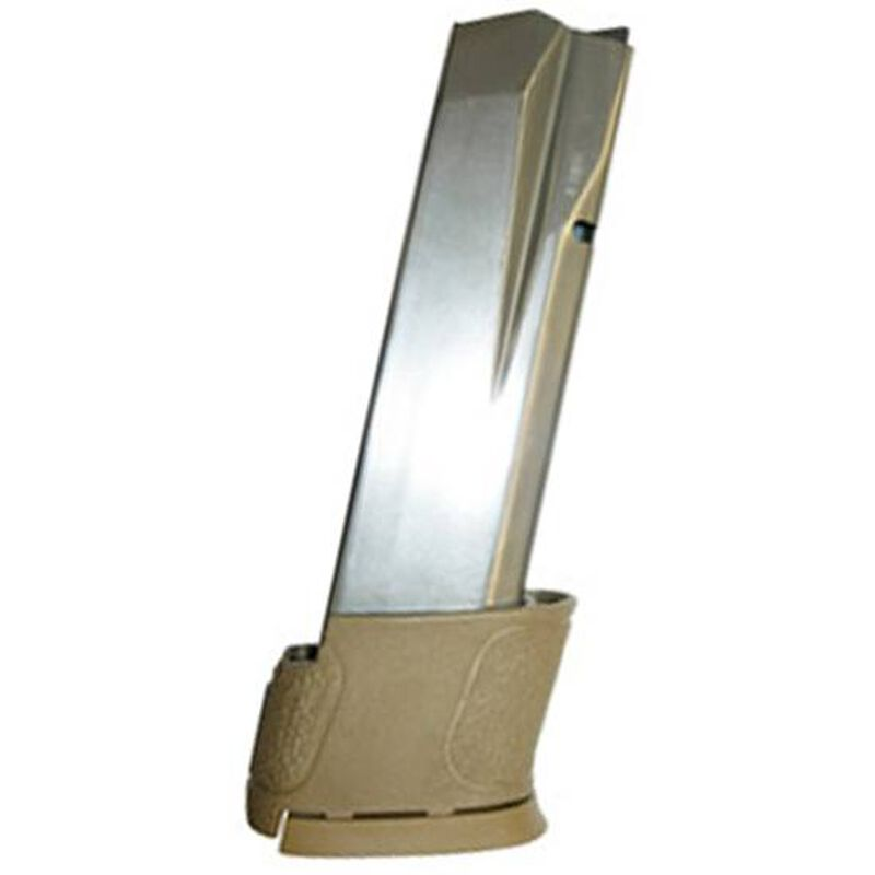 S&W M&P45/45C Magazine .45 ACP 14 Rounds FDE Extension Stainless Steel 19477