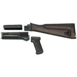 Arsenal AK-47 Stock Set NATO Length Black Polymer