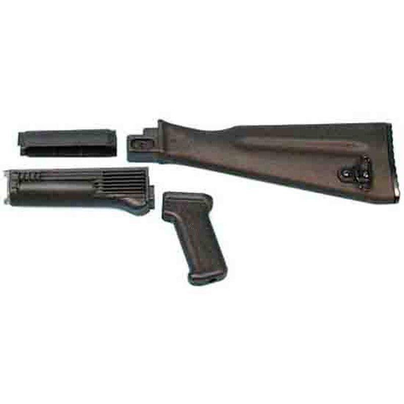 Arsenal AK-47 Stock Set NATO Length Black Polymer