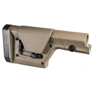 Magpul PRS Gen 3 AR15/AR10/LR308 Precision Adjustable Stock Adjustable LOP/Cheek Piece Polymer Flat Dark Earth