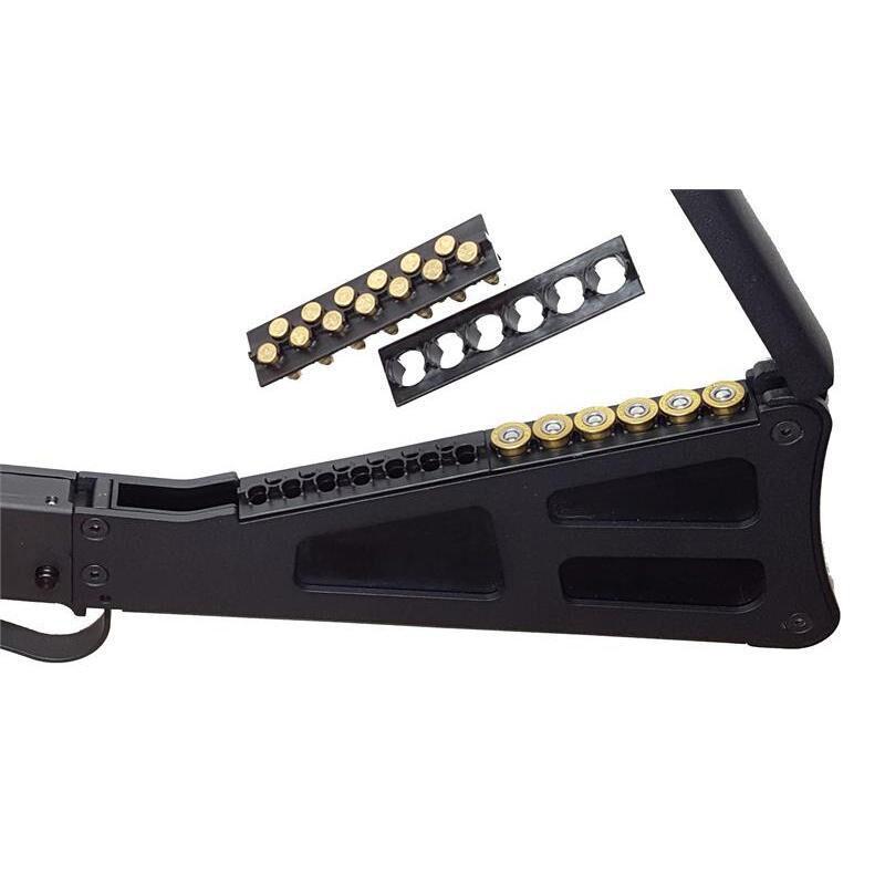 "TPS Arms M6 Takedown Over/Under .410 Bore/.17 HMR Break Action Shotgun/Rifle 18.25"" Barrel 3"" Chamber Single Shot Iron Sights Blued/Black"