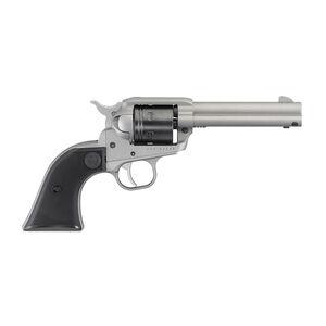 """Ruger Wrangler .22 LR Single Action Revolver 4.62"""" Barrel 6 Rounds Aluminum Alloy Frame Silver Cerakote Finish"""