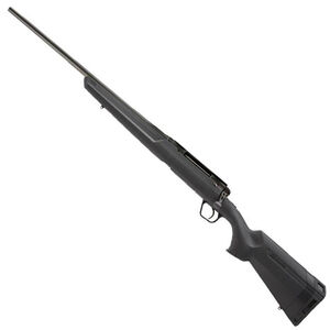 "Savage Axis II Left Hand Bolt Action Rifle .308 Winchester 22"" Sporter Profile Barrel 4 Rounds Detachable Box Magazine AccuTrigger Synthetic Stock Matte Black Finish"