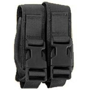 HSGI Modular Pistol Double Mag Pouch MOLLE Nylon Black