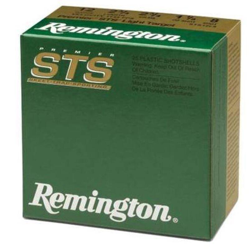 """Remington Premier STS 12 Ga 2.75"""" #8 Lead 1oz 250 rds"""