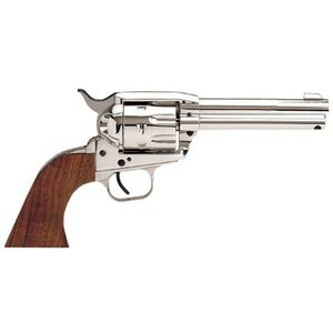 "EAA Bounty Hunter Revolver Single Action Army .45 LC 4.5"" Barrel 6 Rounds Steel Nickel Walnut"