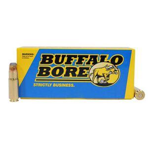 Buffalo Bore 458 SOCOM Ammunition 20 Rounds 400 Grain Jacketed Flat Nose 1550 fps