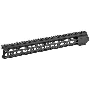 "2A Armament Builder Series AR-15 15"" Free Float Hand Guard Picatinny/M-LOK Aluminum Construction Hard Coat Anodized Matte Black Finish"