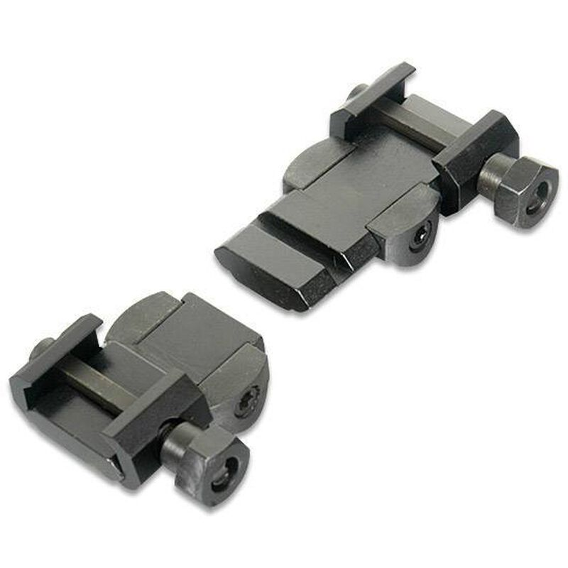 Burris Ruger To Weaver Base Adapter Mount Ruger M77 with Burris Laserscope 410992