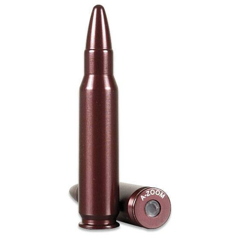 A-Zoom Snap Caps 8x57mm Mauser Aluminum 2 Pack 12235