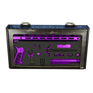 Timber Creek Outdoors Enforcer AR-15 Builder's Kit Purple Anodized TCO EK PPA