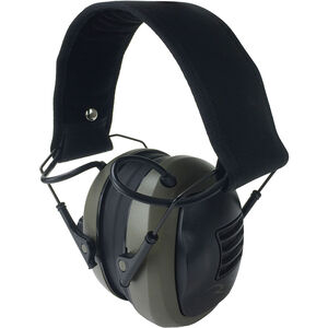 Radians CSE10BX Tactical Folding Electronic Earmuff Tan/Black