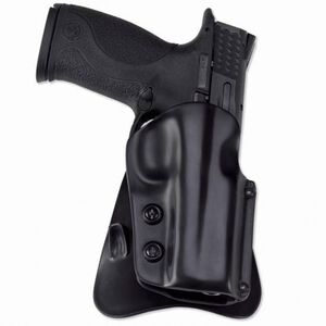 Galco M5X Matrix Kahr PM9/40, MK9/40 Paddle Holster Right Hand Thermoplastic Black M5X460