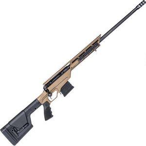 "Savage 110 BA Stealth Evolution Bolt Action Rifle .338 Lapua 24"" Threaded Barrel 5 Rounds Bronze Aluminum Chassis Magpul PRS Stock Black Finish"