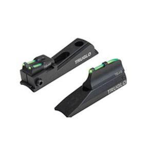 TRUGLO Sight Set Universal Muzzelloader Tritium/Fiber Optic Green