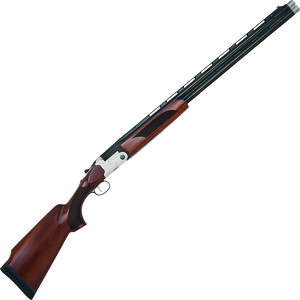 "Mossberg Silver Reserve II Super Sport 12 Gauge O/U Break Action Shotgun 30"" Ported Barrels 3"" Chambers 2 Rounds FO Front Sight Shell Ejectors Walnut Stock Scroll Engraving Silver/Blued Finish"