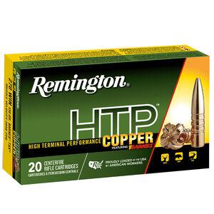 Remington HTP Copper .270 WSM Ammunition 140 Grain Barnes TSX Copper Boat Tail Projectile