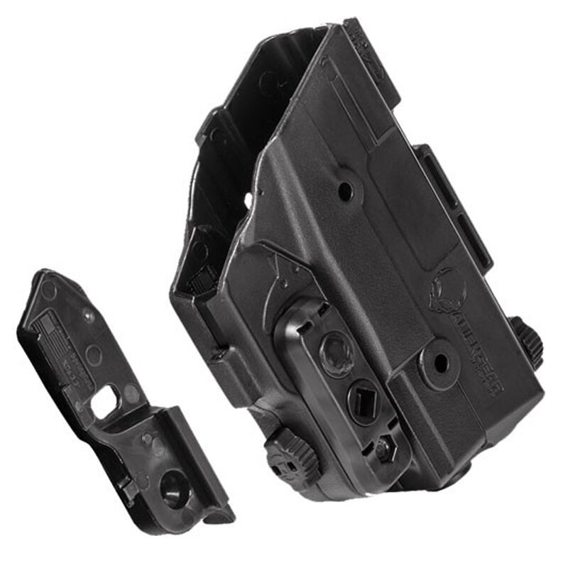 """AlienGear Holsters Shape Shift Shell for 1911 Government 5"""" Models with Right Hand Draw Kydex Black"""