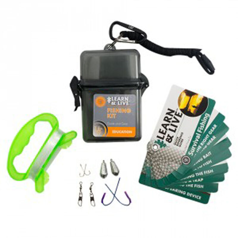 Ultimate Survival Technologies Learn & Live Fish Kit 20-02765