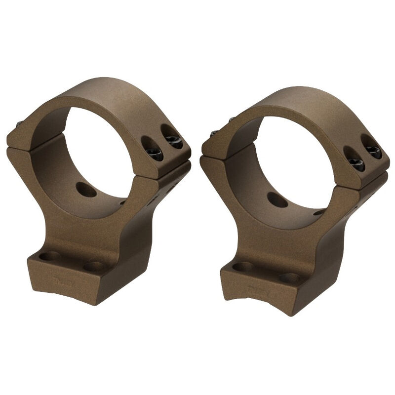 Browning X-Bolt Scope Rings 34mm Tube High Height Burnt Bronze Cerakote